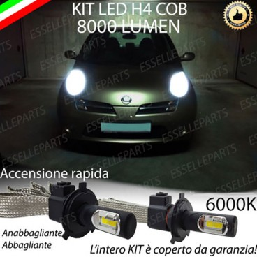 Anabbaglianti/abbaglianti KIT A LED NISSAN MICRA III