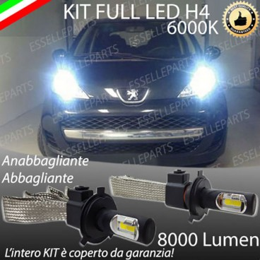 Anabbaglianti/abbaglianti KIT A LED PEUGEOT 107