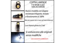 Luci targa 5 LED Canbus CITROEN C3 III