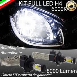 KitFull LED H4 Anabbaglianti/Abbaglianti 8000 LUMENSMARTFORTWO III