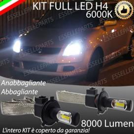 KitFull LED H4 Anabbaglianti/Abbaglianti 8000 LUMENSUZUKISWIFT III