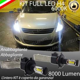 KitFull LED H4 Anabbaglianti/Abbaglianti 8000 LUMENSUZUKISWIFT IV