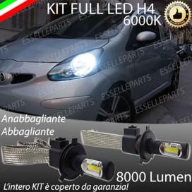 KitFull LED H4 Anabbaglianti/Abbaglianti 8000 LUMENTOYOTAAYGO I