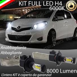 KitFull LED H4 Anabbaglianti/Abbaglianti 8000 LUMENTOYOTAYARIS III