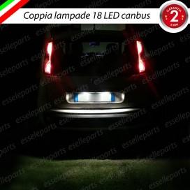 Luci targa 18 LED Canbus