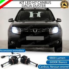 Kit Full LED H7 9800 LUMEN Anabbaglianti DACIA DUSTER RESTYLING