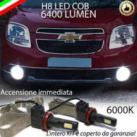 KitFull LED H8 6400 LUMEN FendinebbiaCHEVROLETORLANDO