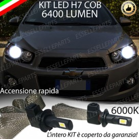 KIT FULL LED H7 Anabbaglianti AVEO