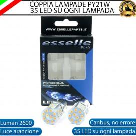 Coppia Frecce Anteriori PY21W 35 LED Canbus Fiat Seicento