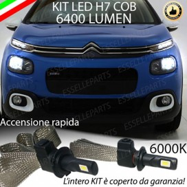 Kit Full LED H7 Anabbaglianti + Portalampade