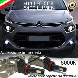 Kit Full LED H11 Fendinebbia CITROEN C4 PICASSO II