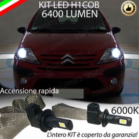Kit Full LED H1 Abbaglianti CITROEN C3 I