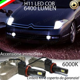 KitFull LEDFendinebbia H11 6400 LUMENCITROENC6