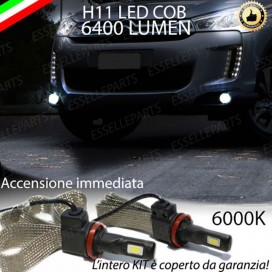 KitFull LEDFendinebbia H11 6400 LUMENCITROENC4 AIRCROSS