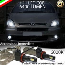 KitFull LEDFendinebbia H11 6400 LUMENCITROENXSARA PICASSO