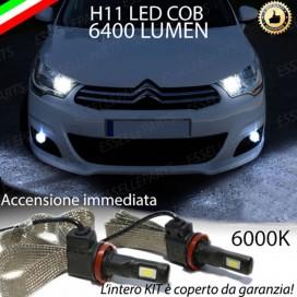KitFull LEDFendinebbia H11 6400 LUMENCITROENC4 II