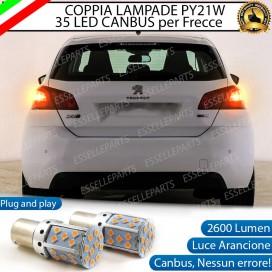 Coppia Frecce Posteriori PY21W 35 LED Canbus PEUGEOT 308 II