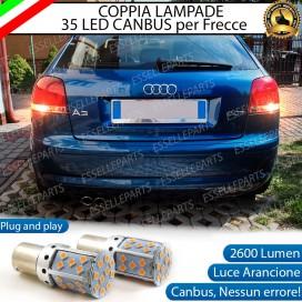 Coppia Frecce Posteriori PY21W 35 LED Canbus AUDI A3 8P