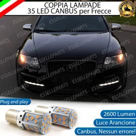 Coppia Frecce Anteriori PY21W 35 LED Canbus AUDI A6 C6