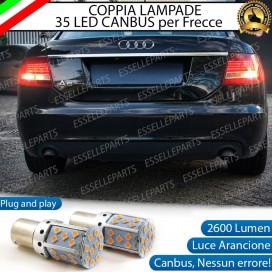 Coppia Frecce Posteriori PY21W 35 LED Canbus AUDI A6 C6