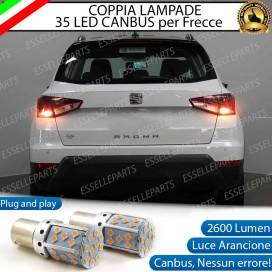 Coppia Frecce Posteriori PY21W 35 LED Canbus SEAT Arona