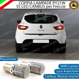 Coppia Frecce Posteriori PY21W 35 LED Canbus RENAULT Clio 4