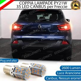 Coppia Frecce Posteriori PY21W 35 LED Canbus RENAULT Kadjar