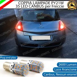 Coppia Frecce Posteriori PY21W 35 LED Canbus RENAULT Megane 2