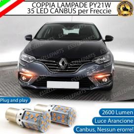 Coppia Frecce Anteriori PY21W 35 LED Canbus Renault Megane 4