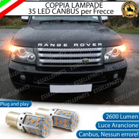 Coppia Frecce Anteriori PY21W 35 LED Canbus RANGE ROVER SPORT