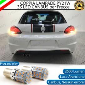 Coppia Frecce Posteriori PY21W 35 LED Canbus VOLKSWAGEN Scirocco