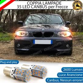 Coppia Frecce Anteriori PY21W 35 LED Canbus BMW SERIE 1 E87