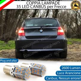 Coppia Frecce Posteriori PY21W 35 LED Canbus BMW SERIE 1 E87