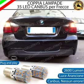 Coppia Frecce Posteriori P21W 35 LED Canbus BMW SERIE 3 E90 E91