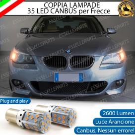 Coppia Frecce Anteriori PY21W 35 LED Canbus BMW SERIE 5 E60