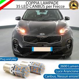 Coppia Frecce Anteriori PY21W 35 LED Canbus Kia Sportage 4
