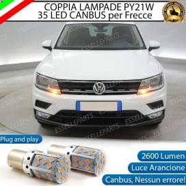 Coppia Frecce Anteriori PY21W 35 LED Canbus Volkswagen Tiguan II