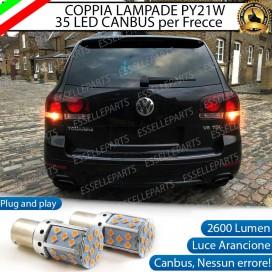 Coppia Frecce Posteriori PY21W 35 LED Canbus VOLKSWAGEN Touareg (7L)