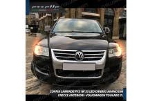 Coppia Frecce Anteriori PY21W 35 LED Canbus Volkswagen Touareg (7L)