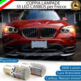 Coppia Frecce Anteriori PY21W 35 LED Canbus BMW X1 E84
