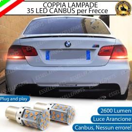 Coppia Frecce Posteriori PY21W 35 LED Canbus BMW SERIE 3 E92