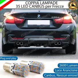 Coppia Frecce Posteriori P21W 35 LED Canbus BMW SERIE 4 F32