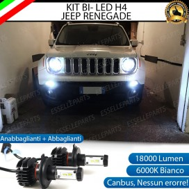 Kit Full LED H4 18000 LUMEN per JEEP RENEGADE