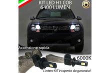 Kit Full LED H1 Abbaglianti DACIA DUSTER RESTYLING