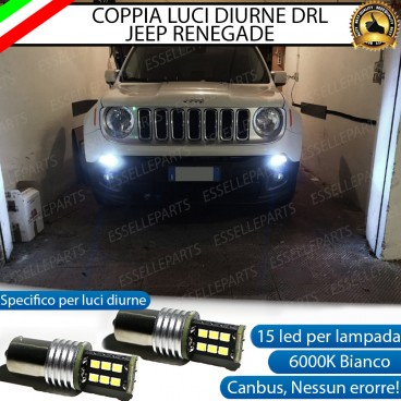 Luci Posizione 15 LED BAY15D P21/5W JEEP RENEGADE DRL