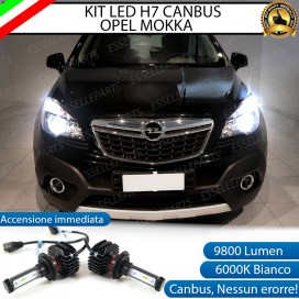 Kit Full LED H7 9800 LUMEN Anabbaglianti OPEL MOKKA