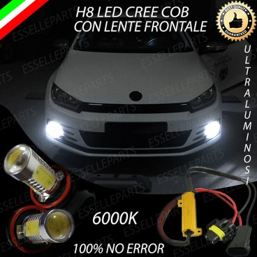Luci Fendinebbia H8 LED VW SCIROCCO