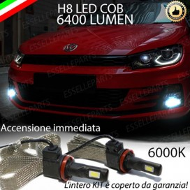 KitFull LED H8 6400 LUMEN FendinebbiaVWSCIROCCO