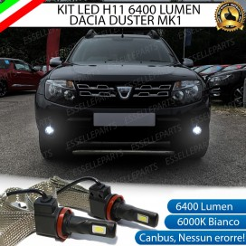 KitFull LEDFendinebbia H11 6400 LUMENDACIADUSTER