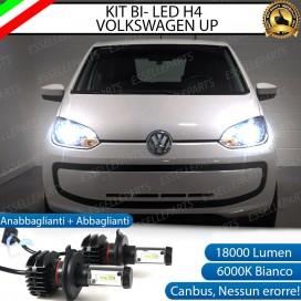 Kit Full LED H4 18000 LUMEN Anabbaglianti/Abbaglianti VOLKSWAGEN UP